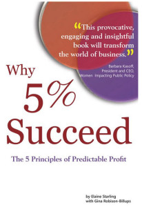 Why 5% Succeed Best Selling Book Cover